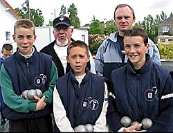champions triplettes 2003