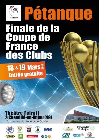 Affiche Finale CDF 2016
