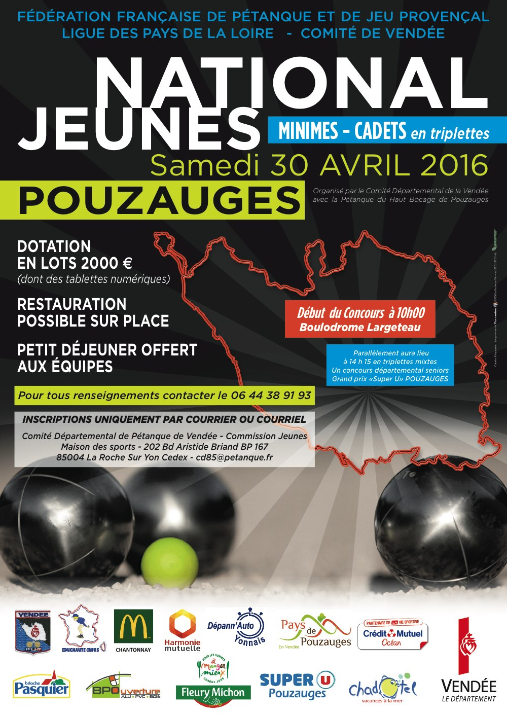 National Jeunes Pouzauges