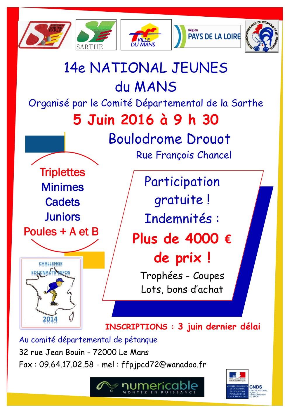 National Jeunes du Mans