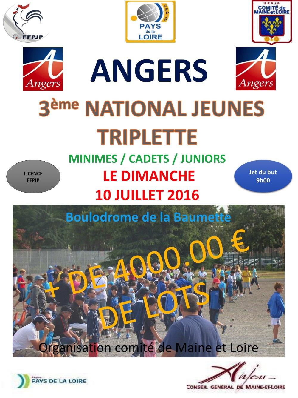 National Jeunes Angers