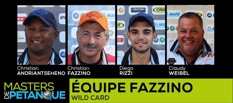 équipe Wild Card MDP 2017